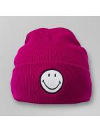 Smiley Cuff Knit Beanie ...