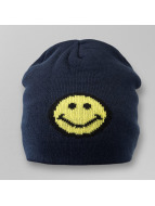 Smiley Jacquard Knit Bea...