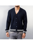 MCL Cardigan Basic Small Buttons blue