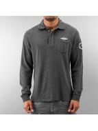 MCL Poloshirt Denim Exalted gray