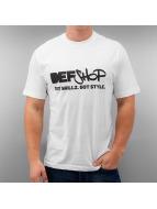 Merchandise T-Shirt DefShop Got Skillz Got Style weiß