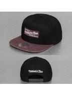 Mitchell & Ness Snapback Cap Melange Infill black