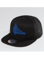 Mitchell & Ness NBA Elements Golden State Warriors Snapback Cap Black