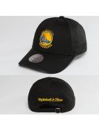 Mitchell & Ness Snapback Cap NBA Team Logo Low Pro Golden State Warriors black