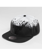Mitchell & Ness Snapback Cap Splatter Chicago Bulls black