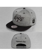 Mitchell & Ness Snapback Cap Broad LA Kings gray