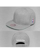 Mitchell & Ness Snapback Cap Wool Solid NBA Logo gray
