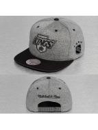 Mitchell & Ness Snapback Cap Broad LA Kings grey