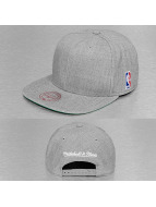 Mitchell & Ness Snapback Cap Wool Solid NBA Logo grey