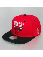 Mitchell & Ness Snapback Cap Chicago Bulls red