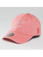 Mitchell & Ness NBA Pastel 2-Tone Logo Cleveland Cavaliers Snapback Cap Burnt Coral