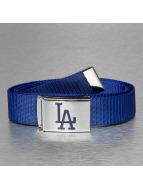 MLB Belt LA Dodgers Woven blue