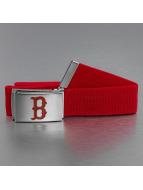 MLB Belt Baseball Boston Sox Woven Single red