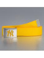 MLB Belt MLB NY Yankees Premium Woven Single yellow