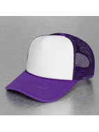 MSTRDS Trucker Cap High Profile Baseball Trucker purple