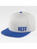 NEFF Daily Snapback Cap Grey/Blue