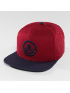 NEFF Snapback Cap Daily Smile red