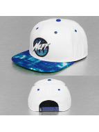 NEFF Snapback Cap Neon City white