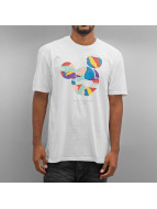 NEFF T-Shirt Abstract Mickey Face white