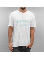 NEFF T-Shirt Good Vibes white