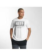 NEFF T-Shirt New World Push white