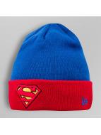 New Era Beanie Character Contrast Cuff Superman blau