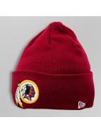 New Era Beanie Lic Over Cuff Washington Redskins rot