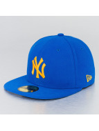 New Era Fitted Cap blau