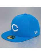 New Era Fitted Cap blauw