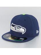 New Era Fitted Cap NFL On Field Seattle Seahawks 59Fifty blue