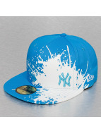 New Era Fitted Cap Splatways NY Yankees 59Fifty blue