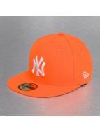 New Era Fitted Cap oranje
