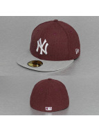 New Era Fitted Cap MLB Heather Contrast NY Yankees 59Fifty red