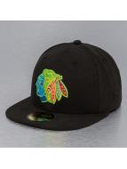 New Era Fitted Cap zwart
