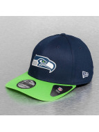 New Era Flexfitted Cap Team Seattle Seahawks Weld blauw