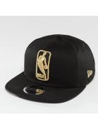 New Era League Logo NBA Logo 9Fifty Snapback Cap Black/Golden