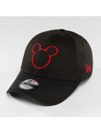 New Era Disney Silhoutte Micky Maus JR 9Forty Cap  Black/Scarlet