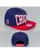 New Era Snapback Cap Text Slant Chicago Cubs blue