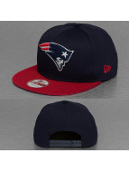 New Era Snapback Cap NFL Visor Mesh New England Patriots blue