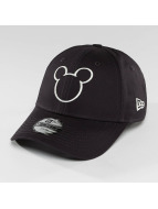 New Era Disney Silhoutte Micky Maus JR 9Forty Cap  Navy/Off White
