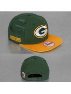 New Era Snapback Cap NFL Green Bay Packers Sideline green