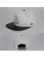 New Era snapback cap Heather Mix LA Dodgers grijs