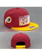 New Era snapback cap rood