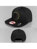 New Era Snapback Cap schwarz