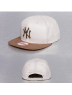 New Era snapback cap Classic Rust NY Yankees wit