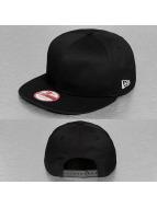 New Era snapback cap zwart