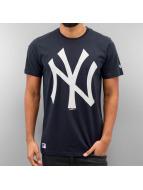 New Era t-shirt blauw