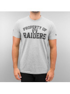 New Era T-Shirt NFL Oakland Raiders Property gray