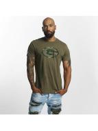 New Era T-Shirt NFL Camo Green Bay Packers olive