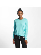 Nike Cosy Sportswear Sweater Fleece Light Aqua/White